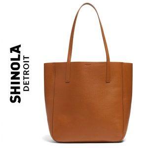 Shinola Cognac Medium Shopper Tote EUC